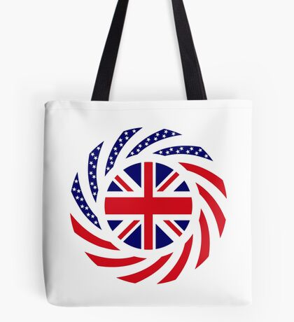 British American Multinational Patriot Flag Series Tote Bag