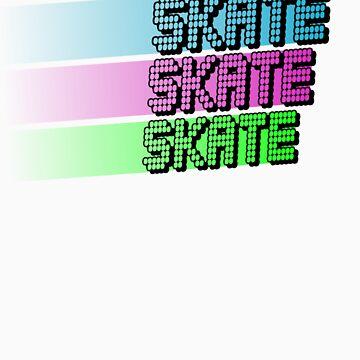 Skate skate skate! by gurumel