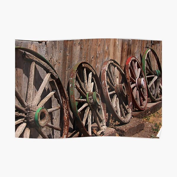 The Wagon Wheels Poster