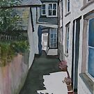 """Squeeze-ee-Belly-Alley"" - Port Isaac, Cornwall by Timothy Smith"