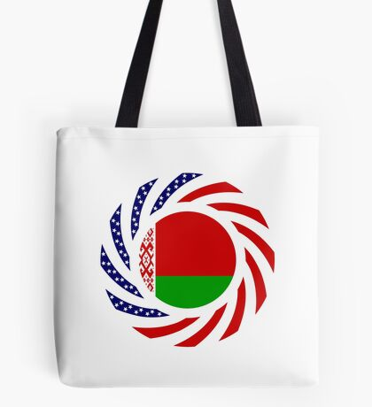 Belarusian American Multinational Patriot Flag Series Tote Bag