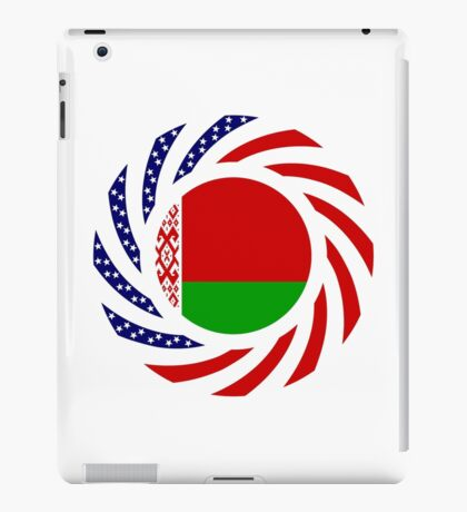 Belarusian American Multinational Patriot Flag Series iPad Case/Skin