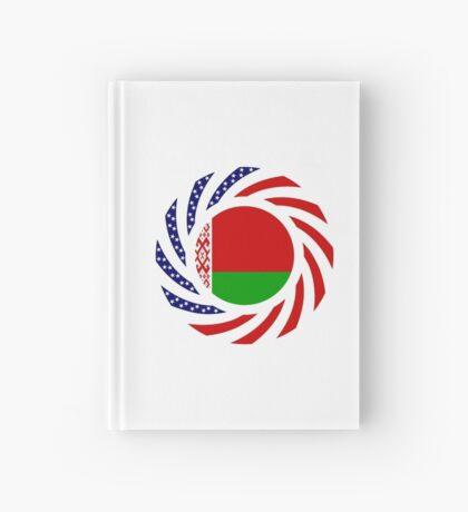 Belarusian American Multinational Patriot Flag Series Hardcover Journal