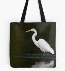 Light Bright White Egret  Tote Bag