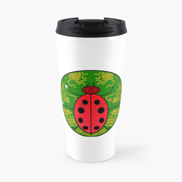 Bug Reporter Badge Travel Mug