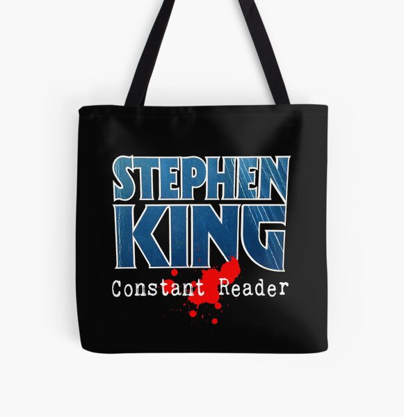 Stephen King Constant Reader All Over Print Tote Bag