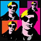ANDY WARHOL - POP-ART STYLE 4-UP COLLAGE by Clifford Hayes