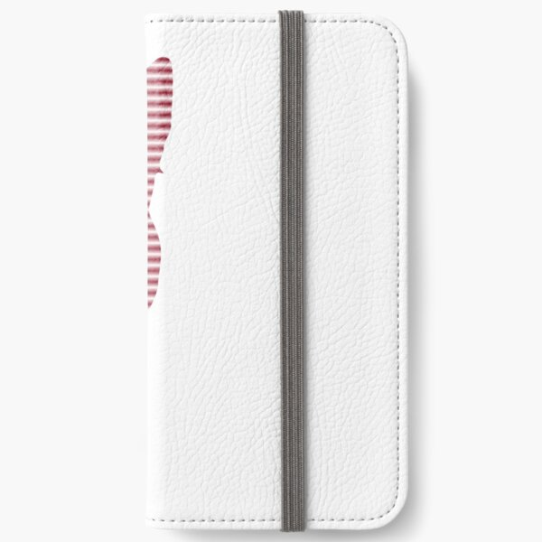 #Woman #Body #Silhouette #Clipart, anatomy, cute, sensuality, sex symbol, striped, elegance, design iPhone Wallet