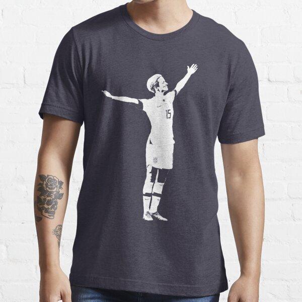 Megan Rapinoe La pose de la victoria - Plantilla blanca Camiseta esencial