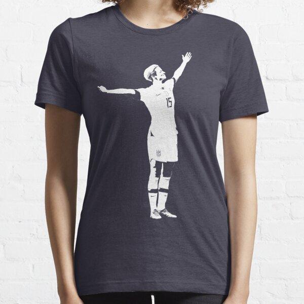 Megan Rapinoe La Pose De La Victoire - Pochoir Blanc T-shirt essentiel