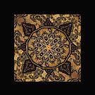 Golden Day Mandala  by GrimalkinStudio