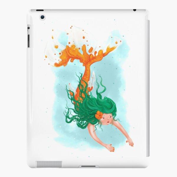 Orange Koi Mermaid iPad Snap Case