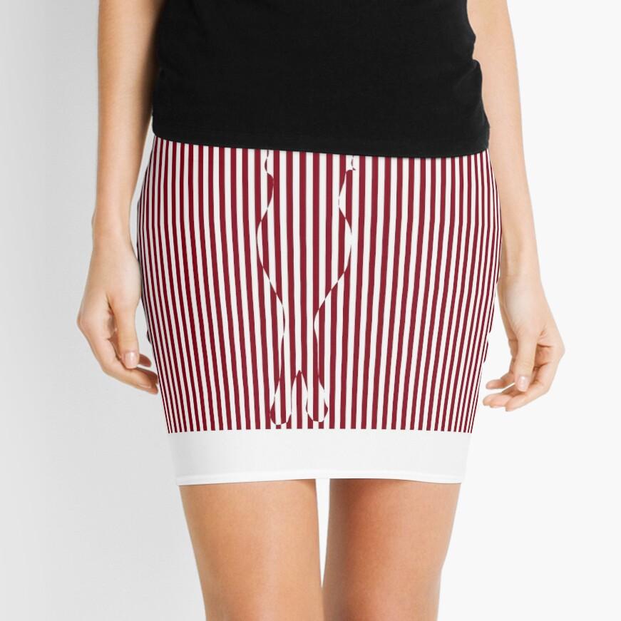 #Woman #Body #Silhouette #Clipart, anatomy, cute, sensuality, sex symbol, striped, elegance, design Mini Skirt
