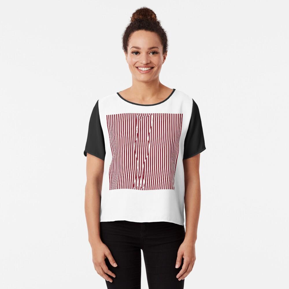 #Woman #Body #Silhouette #Clipart, anatomy, cute, sensuality, sex symbol, striped, elegance, design Chiffon Top