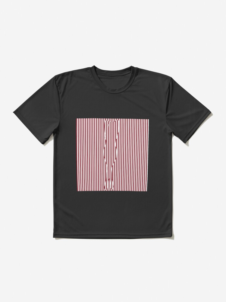 Alternate view of #Woman #Body #Silhouette #Clipart, anatomy, cute, sensuality, sex symbol, striped, elegance, design Active T-Shirt