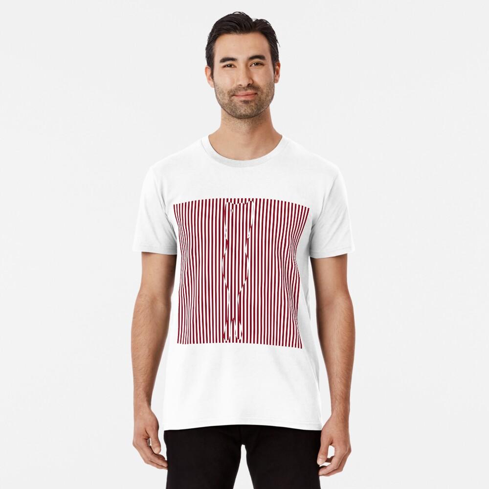 #Woman #Body #Silhouette #Clipart, anatomy, cute, sensuality, sex symbol, striped, elegance, design Premium T-Shirt