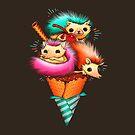 Hedgehog Ice Cream by tobiasfonseca