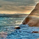 Storm in French Riviera by southmind