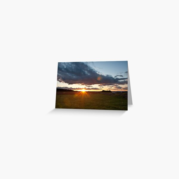 Sunset on Inishmore Greeting Card