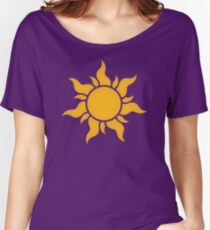 Tangled Kingdom Sun Women's Relaxed Fit T-Shirt