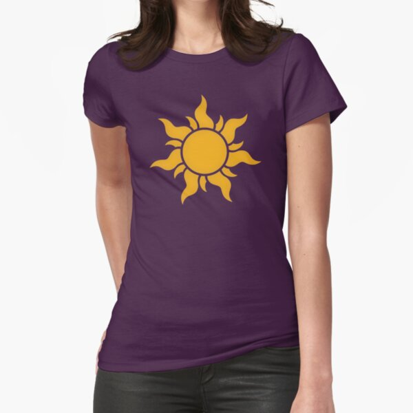 Tangled Kingdom Sun Fitted T-Shirt