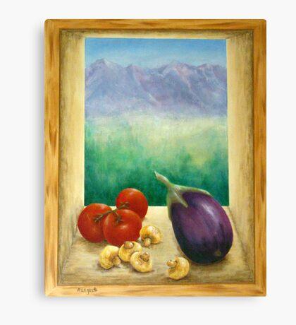 Colorado Rocky Mountains View Canvas Print