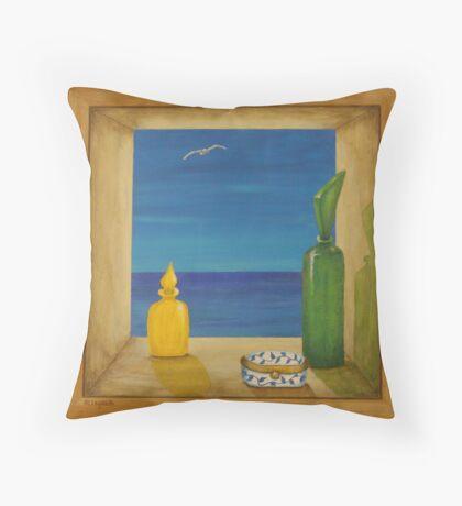 Sea View 2 Throw Pillow