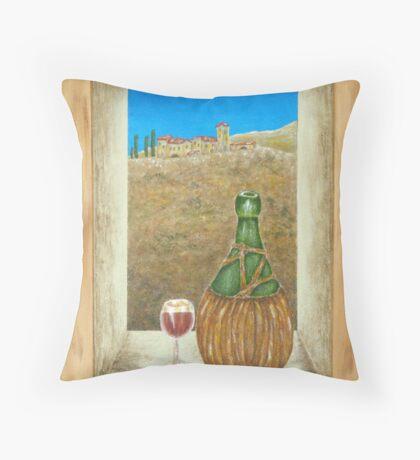 Sicilian View Throw Pillow