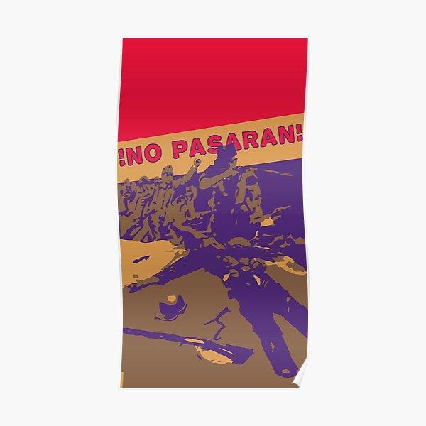 No Pasaran - Cartel de guerra Póster