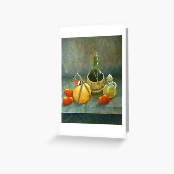 Sicilian Table Greeting Card