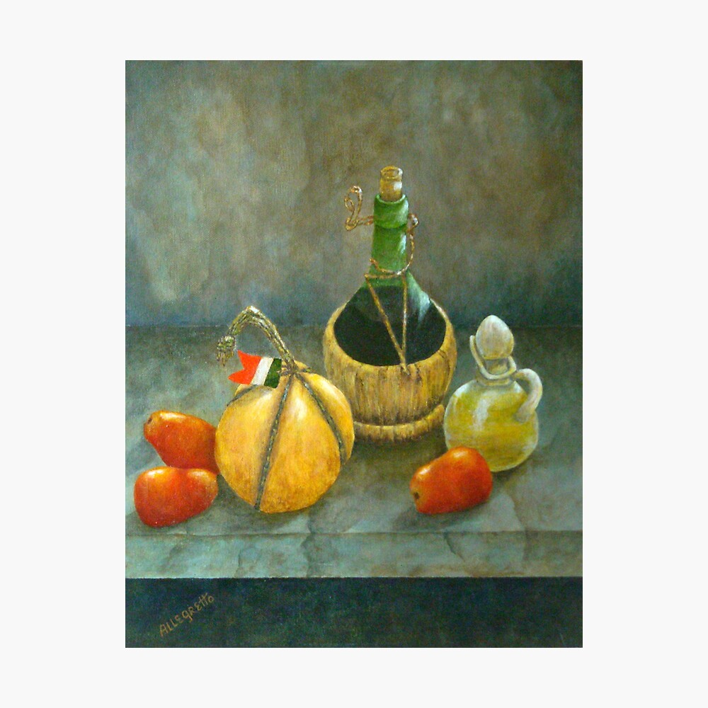Sicilian Table Photographic Print