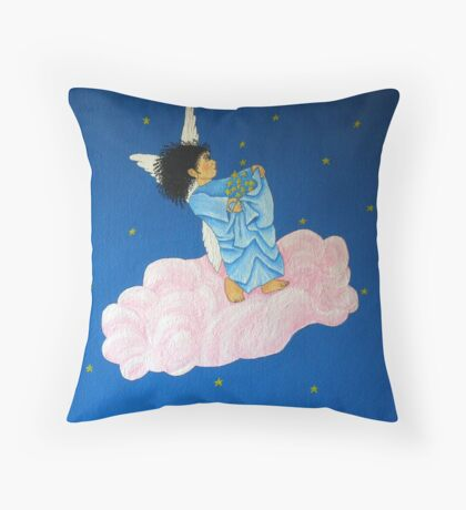 Gathering Starlight Throw Pillow