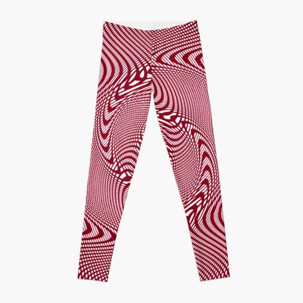 #Pattern, #abstract, #design, #illustration, geometry, illusion, intricacy, art Leggings