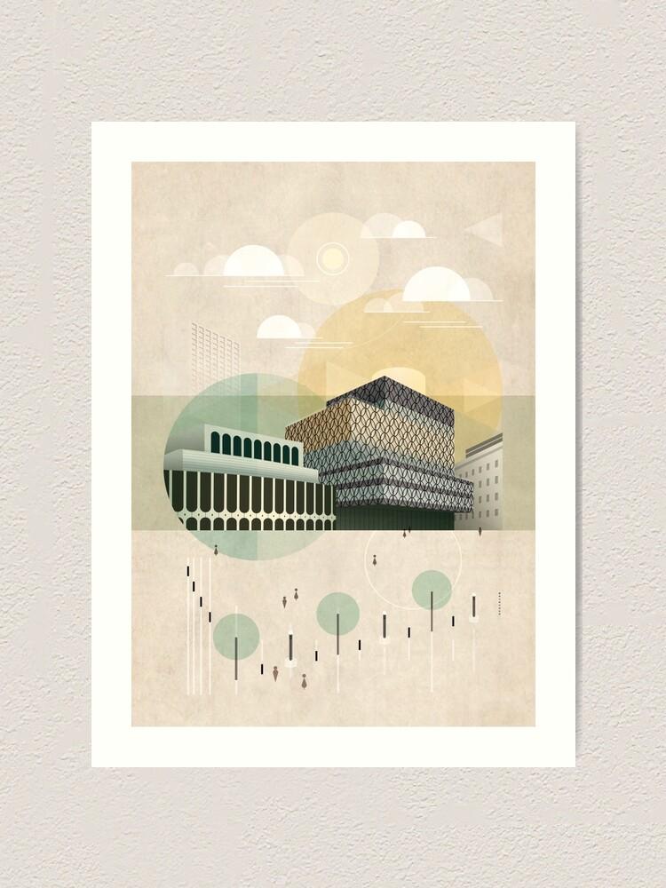 Alternate view of Centenary Square Art Print