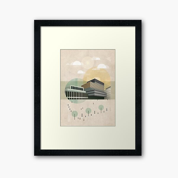 Centenary Square Framed Art Print