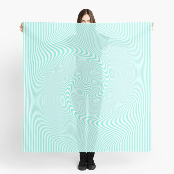 #Pattern, #abstract, #design, #illustration, geometry, illusion, intricacy, art Scarf
