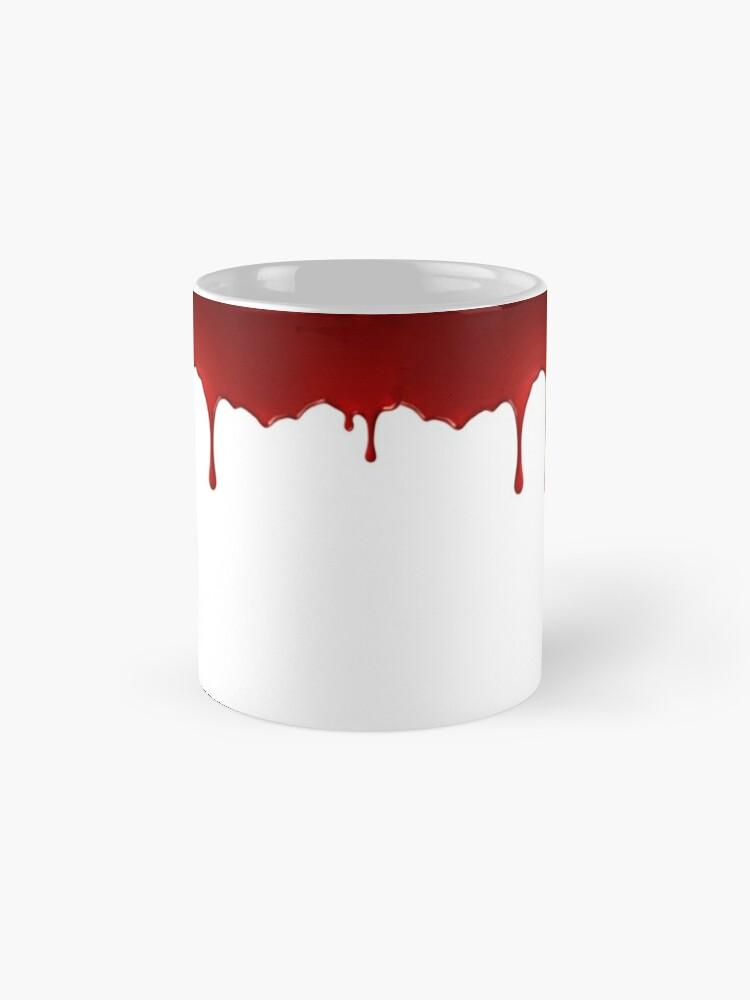 Mug ''Mug sanglant': autre vue