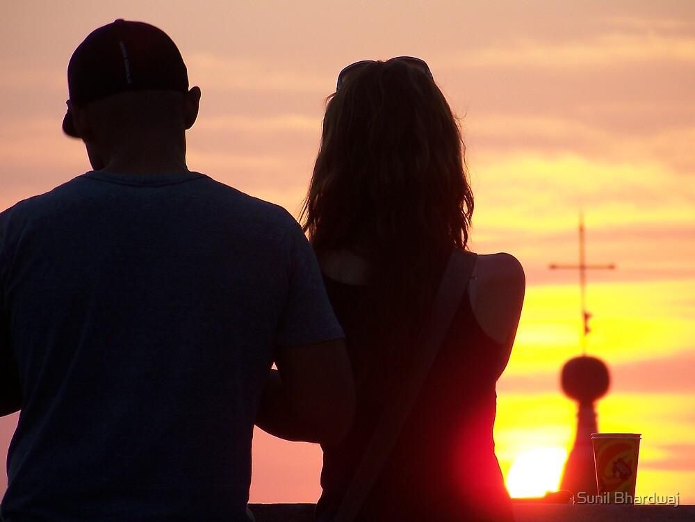 An evening with you ! by Sunil Bhardwaj