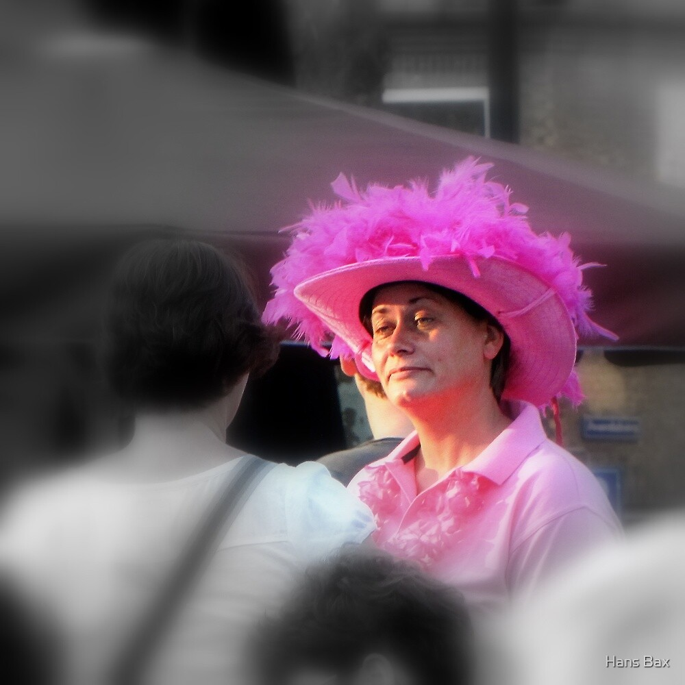 Lady in Pink by Hans Bax