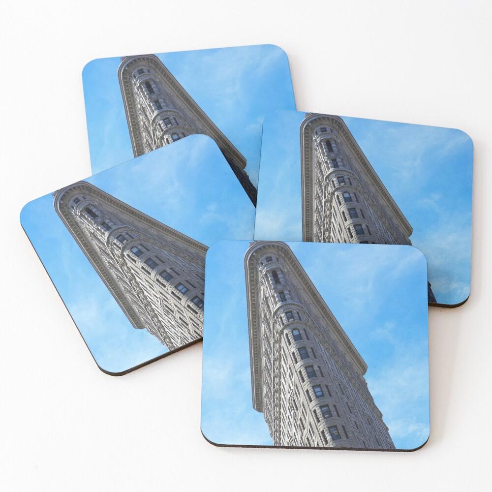 Flat Iron Building Coasters (Set of 4)