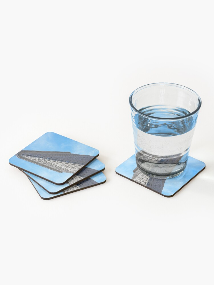 Alternate view of Flat Iron Building Coasters (Set of 4)