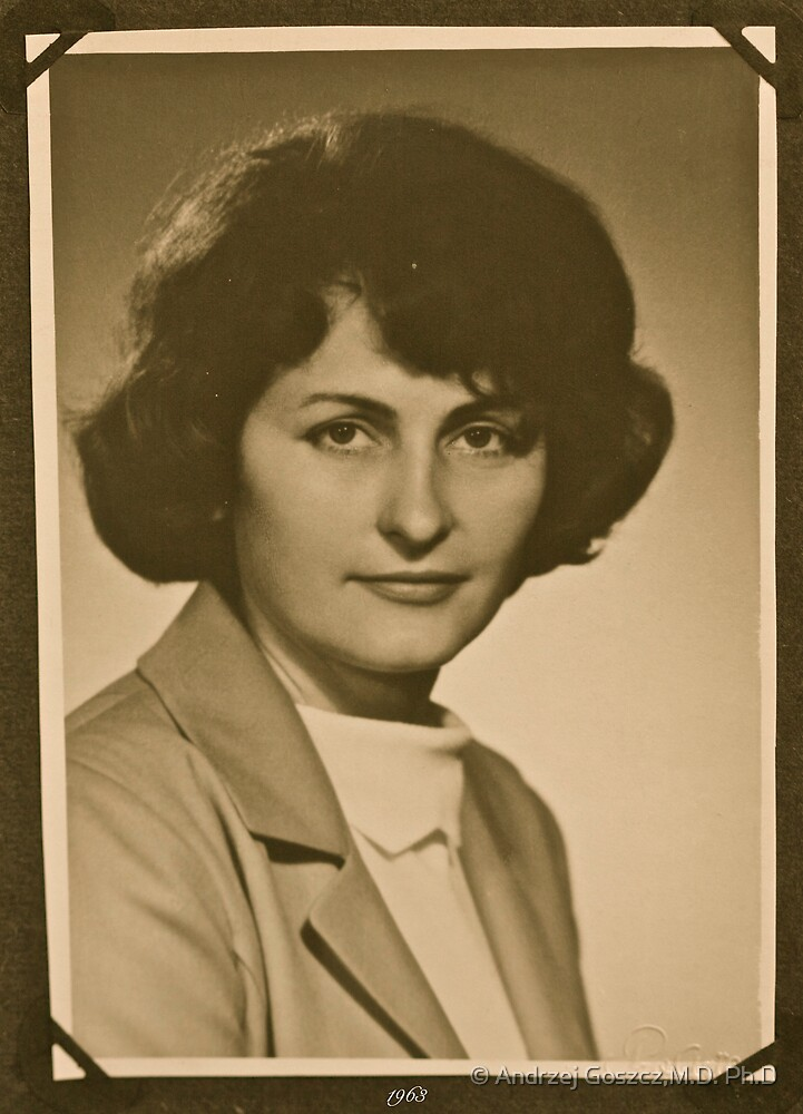 ❤‿❤ . My Mother - 1962 . Brown Sugar Life Book Story . Favorites: 2 Views: 806..  Bardzo dziękuję ! Thank you dear friends! Hold Your Memories. Buy what you like! by © Andrzej Goszcz,M.D. Ph.D