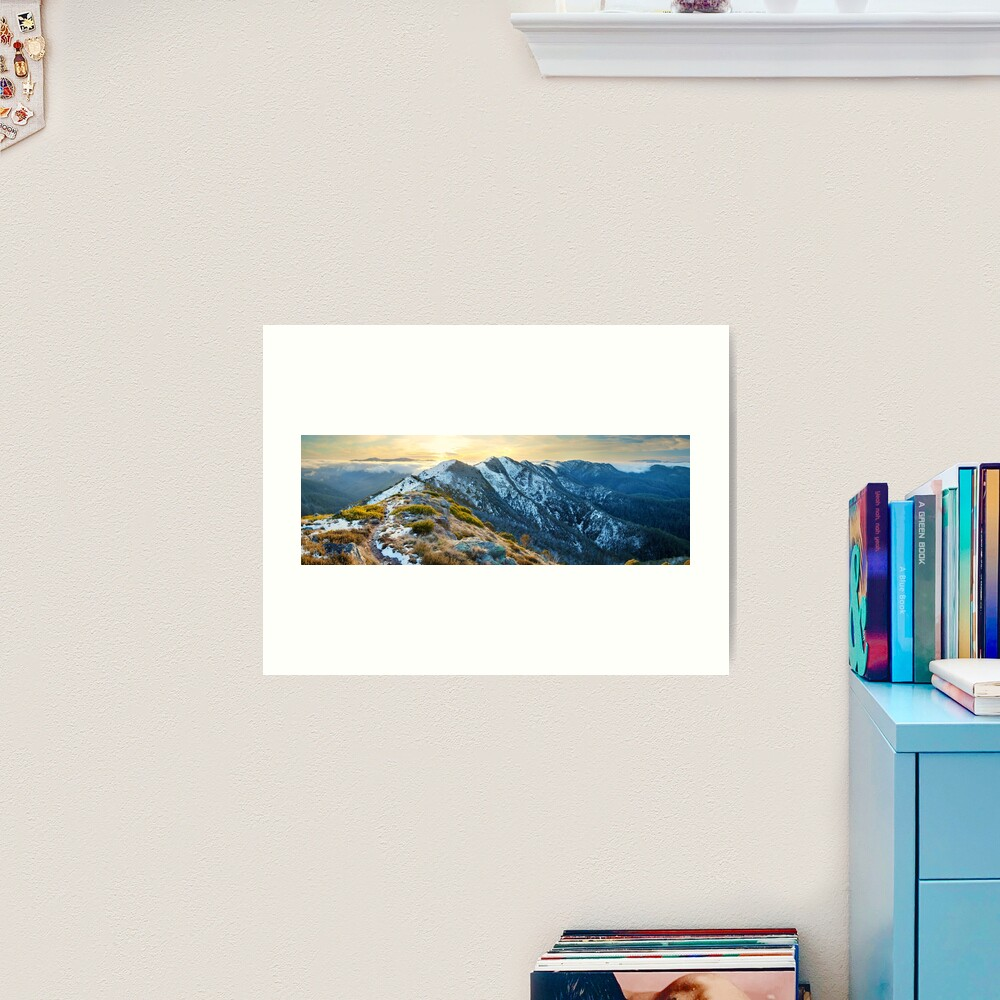 Cross Cut Saw, Mt Howitt, Alpine National Park, Victoria, Australia Art Print