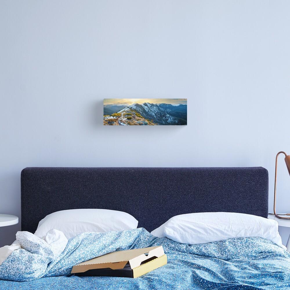 Cross Cut Saw, Mt Howitt, Alpine National Park, Victoria, Australia Canvas Print