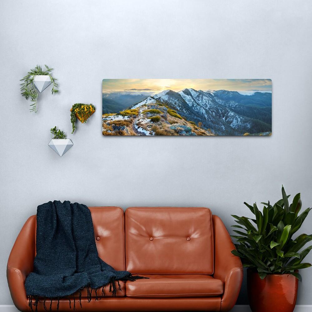 Cross Cut Saw, Mt Howitt, Alpine National Park, Victoria, Australia Metal Print