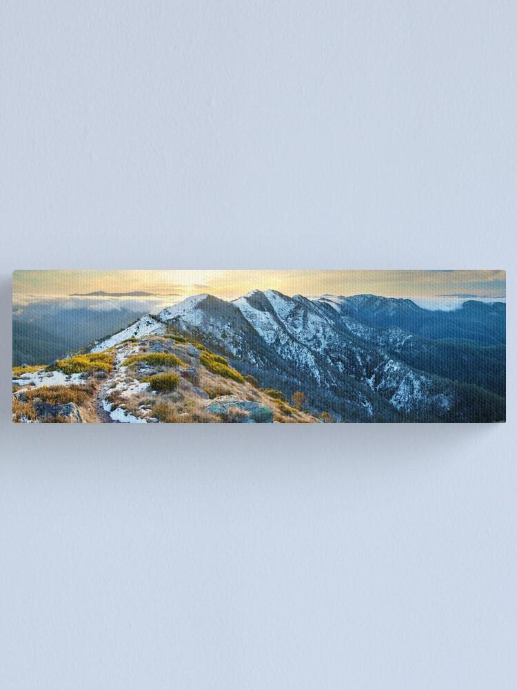 Alternate view of Cross Cut Saw, Mt Howitt, Alpine National Park, Victoria, Australia Canvas Print