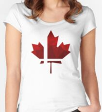 Smash Canada Women's Fitted Scoop T-Shirt