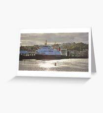 CalMac at Rothsay Greeting Card