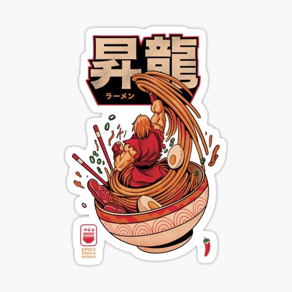 Spicy Shoryu Noodles Sticker