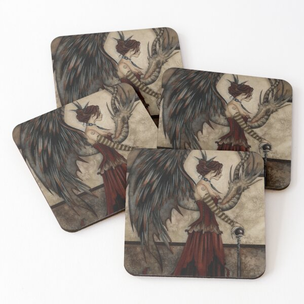 Court Of The Dragon Coasters (Set of 4)